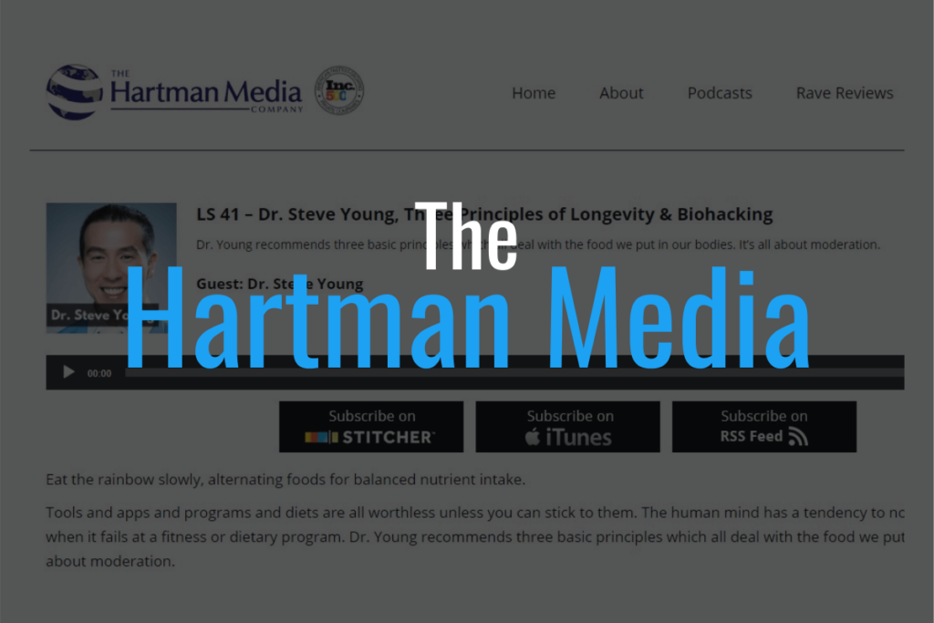 hartman media with dr steve young